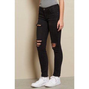 Garage | Super Skinny Distressed Jeans